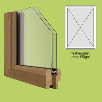 Holzfenster festverglast zu g nstigen preisen kaufen for Fenster shop 24