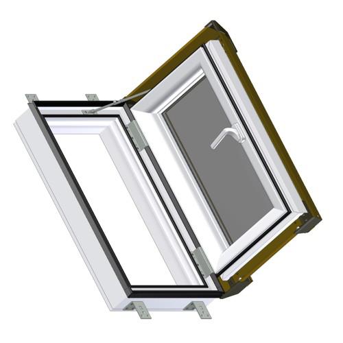 ausstiegsfenster skylight 55 x 78 cm online bestellen. Black Bedroom Furniture Sets. Home Design Ideas