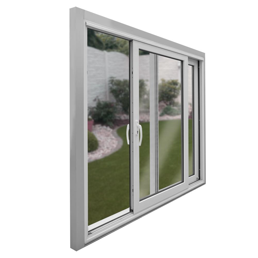 Kunststoff hebe schiebet r breite 2300mm x w hlbare h he for Fenster 2fach oder 3fach verglasung