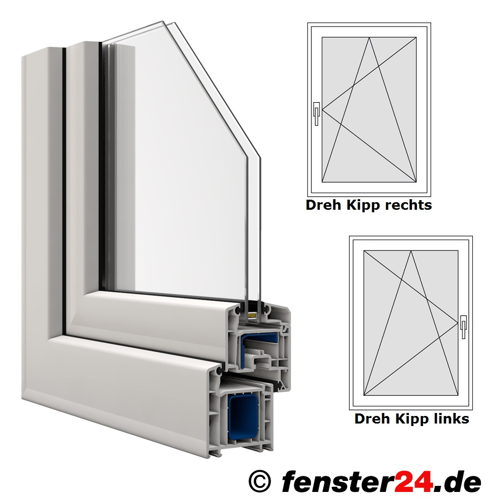 veka fenster in wei breite 700 mm x w hlbare h he dreh kipp funktion veka kunststofffenster. Black Bedroom Furniture Sets. Home Design Ideas