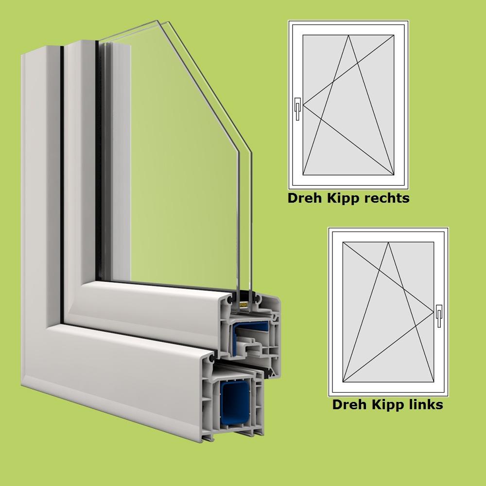 Veka fenster in wei breite 900 mm x w hlbare h he dreh for Fenster shop 24