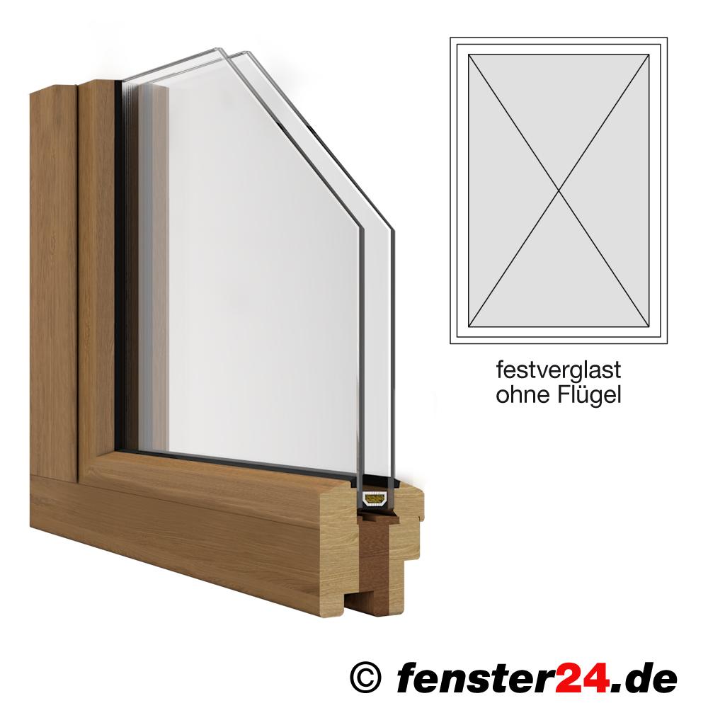 holzfenster iv68 breite 1385mm x w hlbare h he festehend ohne fl gel wei lackiert. Black Bedroom Furniture Sets. Home Design Ideas