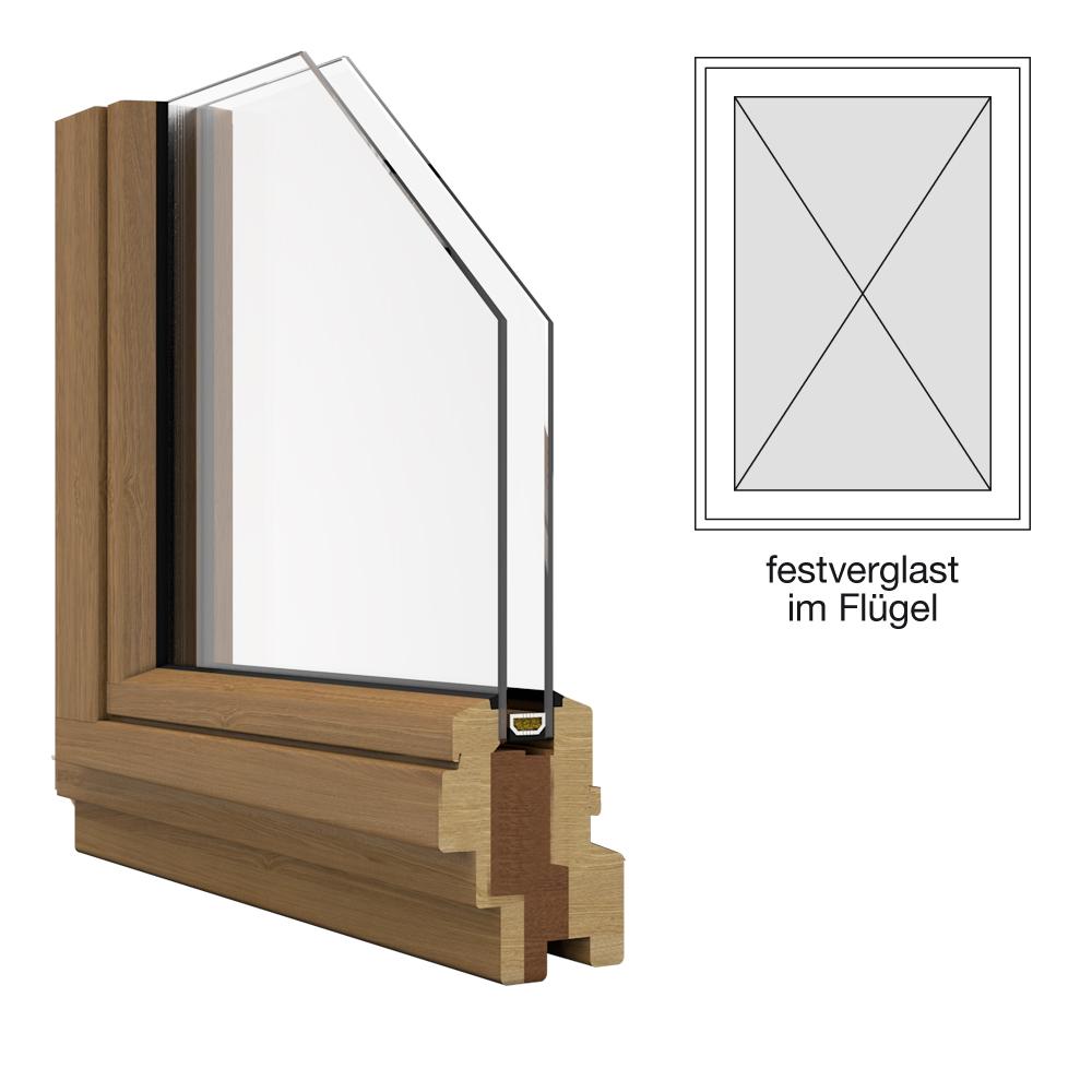holzfenster iv 68 feststehend im fl gel g nstig kaufen. Black Bedroom Furniture Sets. Home Design Ideas