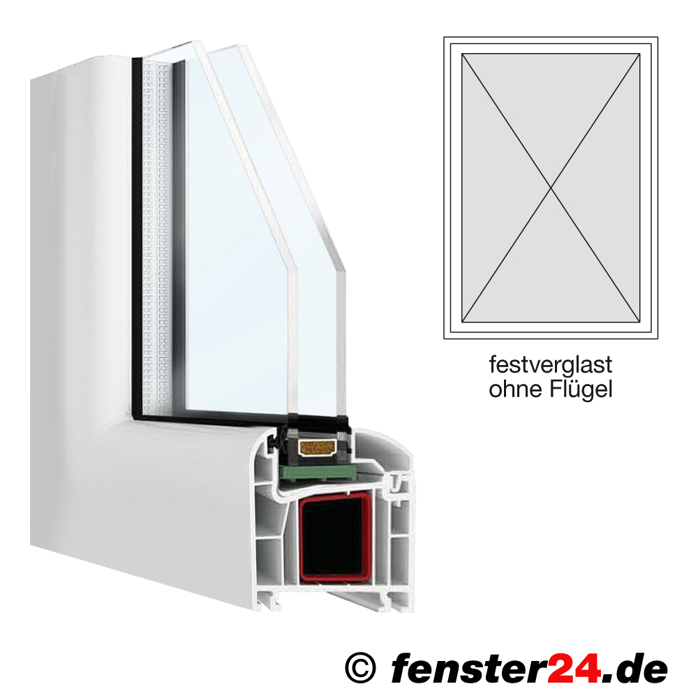 Febobasic breite 600mm x w hlbare h he in wei for Fenster shop 24