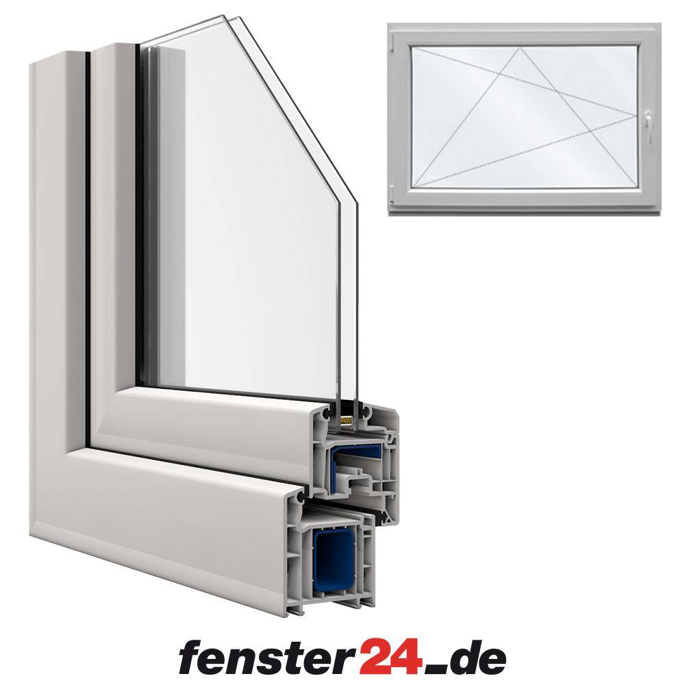 Kellerfenster veka 60x50cm dreh kipp links for Fenster shop 24