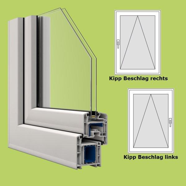 Veka fenster in wei breite 800 mm x w hlbare h he kipp for Fenster shop 24